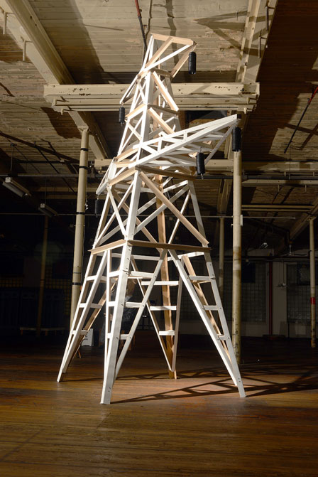 Ivan Jurakic Pylon 2012 Installation view / photo K.J. Bedford